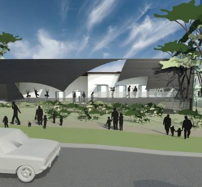 PHOOEY Architects Parkhill Primary School Unbuilt