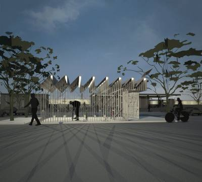 PHOOEY Architects Bike Shed