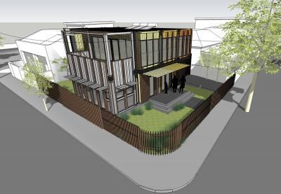 Prahran House Corner