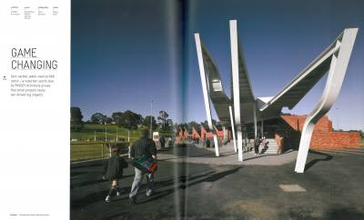 ARCHITECTURAL REVIEW 120 Game Changing Templestowe Reserve Sporting Pavilion