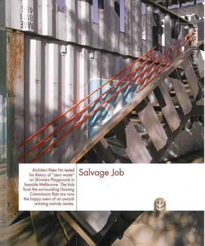 GREEN 08 Salvage Job PHOOEY Architects Childrens Activity Centre