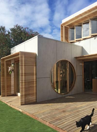 PHOOEY Architects Fyffe Street House