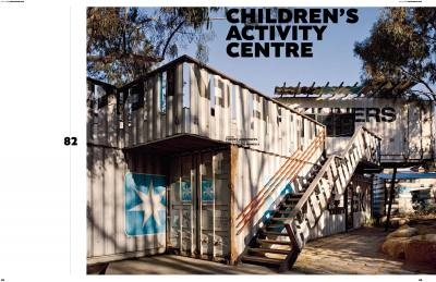 DOMUS 920 Dec 2008 Childrens Activity Centre PHOOEY Architects