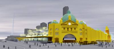 PHOOEY Architects Flinders Street Station