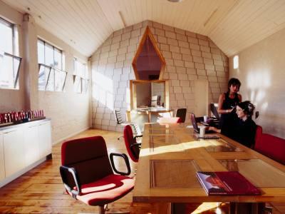 PHOOEY Architects Zedi Hair Salon