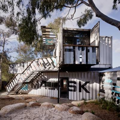 PHOOEY Architects Childrens Activity Centre Skinners Playground South Melbourne