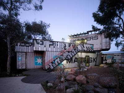 PHOOEY Architects Children's Activity Centre