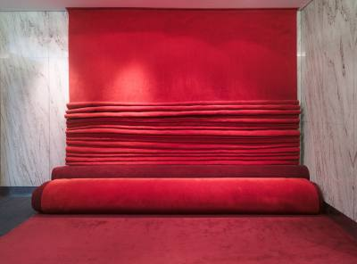 PHOOEY Architects Carpet Couch