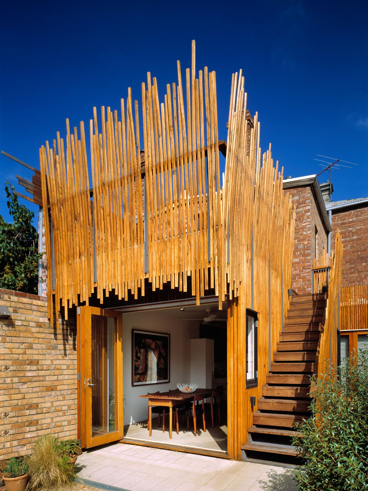 Phooey architects stick house melbourne victoria