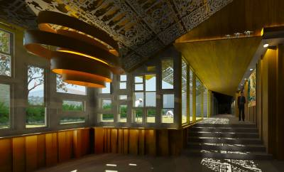 PHOOEY Architects The Lodge on the Lake