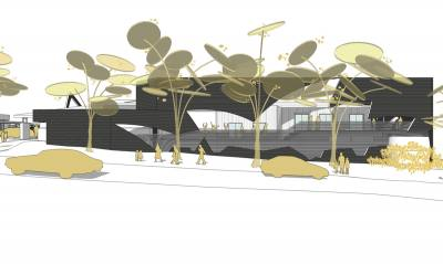 PHOOEY Architects Parkhill Primary School Unbuilt