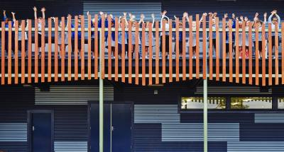 PHOOEY Architects Parkhill Primary School Built