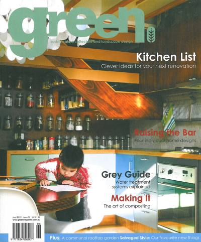 Green Magazine Issue 09 PHOOEY Architects Circle Place