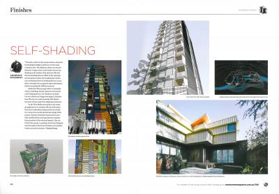 Monument 100 PHOOEY Architects West Melbourne Apartments