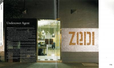 Architectural Review 92 Undercover Agent Zedi Hair Salon