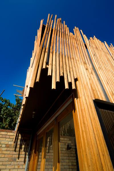 PHOOEY Architects Stick House