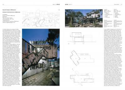 DETAIL 2009 PHOOEY Architects' Children's Activity Centre in Melbourne