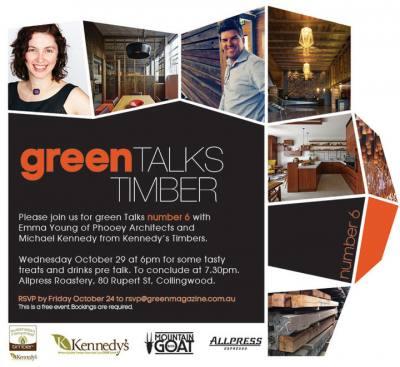 Green Talks #6 Timber