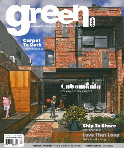 Green Magazine 38 Cover Story - Cubomania - PHOOEY's latest project