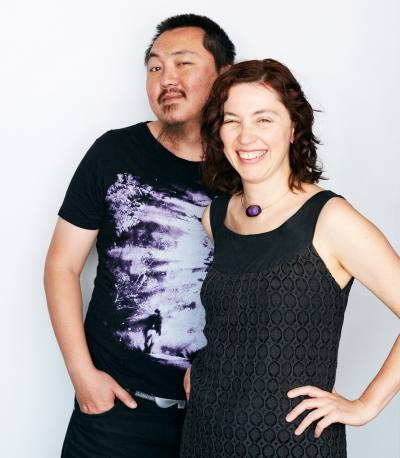 PHOOEY Architects Directors Emma Young and Peter Ho